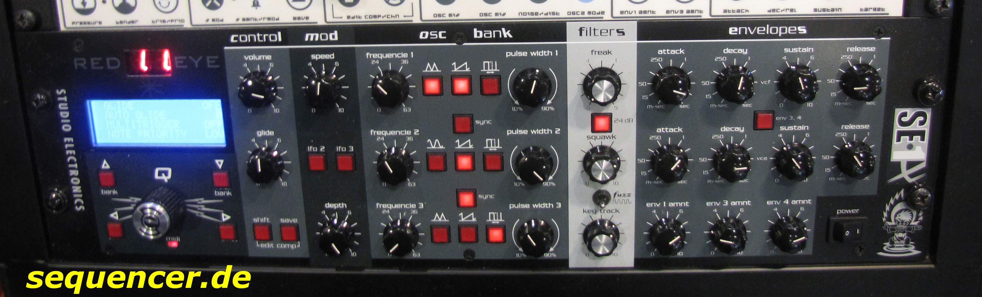 Studio Electronics SE1, SE1X synthesizer