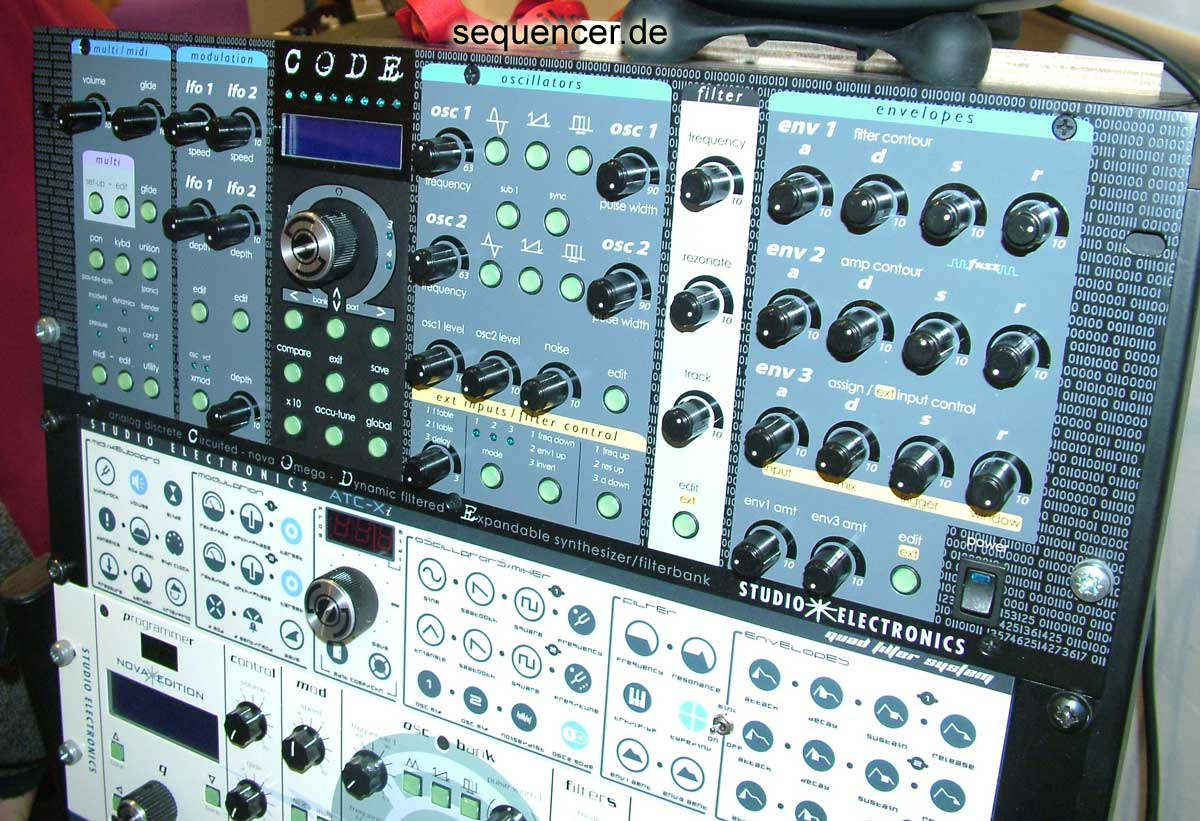 Studio Electronics Code synthesizer