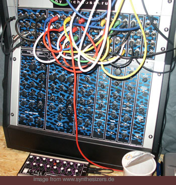 Technosaurus Selector, Modular synthesizer
