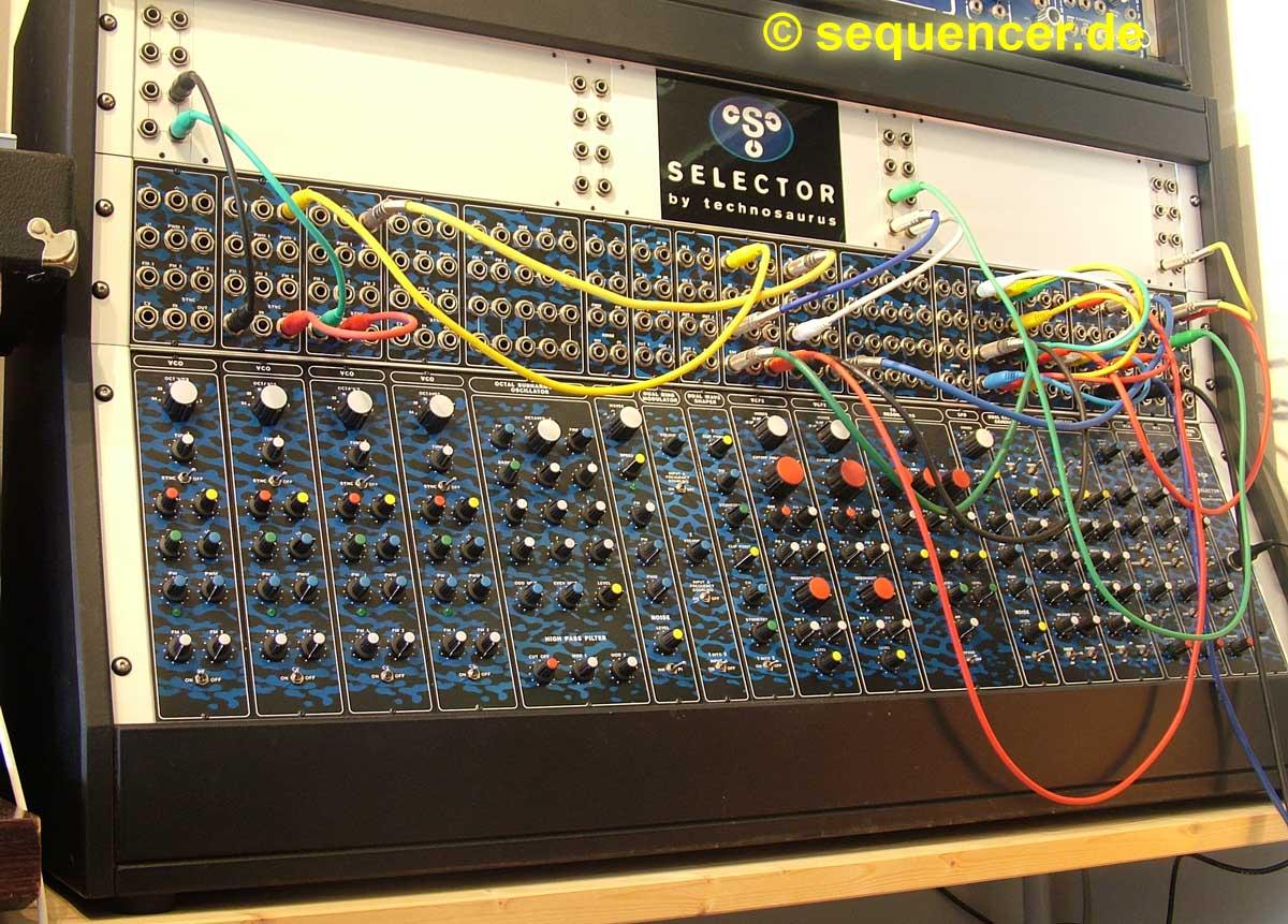 Technosaurus Selector Technosaurus Selector synthesizer