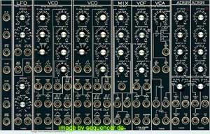 Theis Modular - TMSS synthesizer