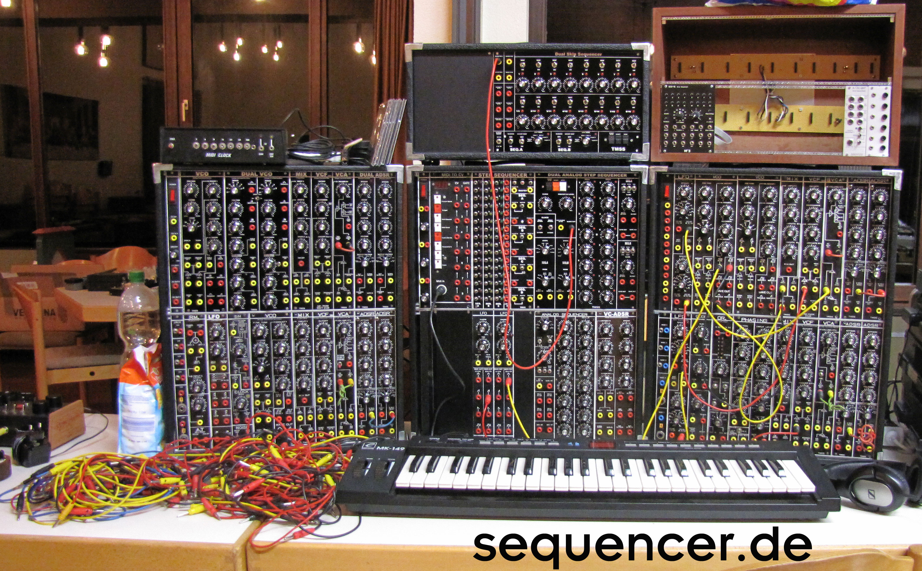 theis modular tmss modular synthesizer analog step sequencer. Black Bedroom Furniture Sets. Home Design Ideas