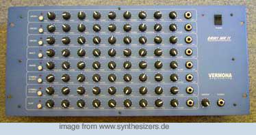Vermona DRM1Mk2 synthesizer