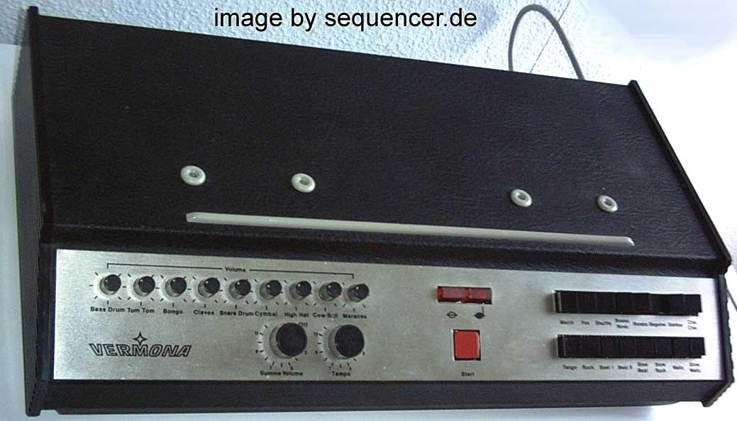 Vermona ER9 synthesizer