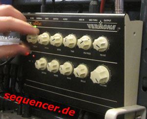 Vermona KickLancet synthesizer