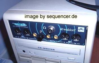 Waldorf MicrowavePC synthesizer