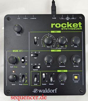 Waldorf Rocket synthesizer