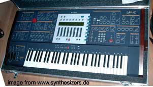 Waldorf Wave Waldorf Wave synthesizer