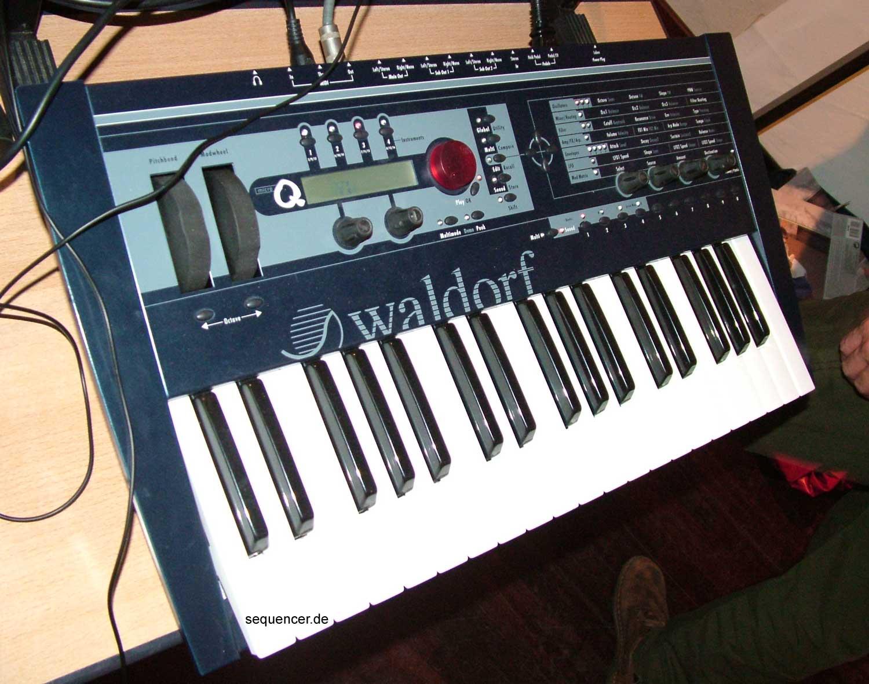 Waldorf micro Qkb , Micro QKeyboard synthesizer