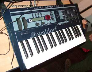 Waldorf microQkb, MicroQKeyboard synthesizer