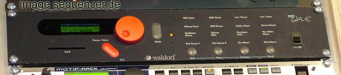 Waldorf Microwave Microwave1 mw1 synthesizer