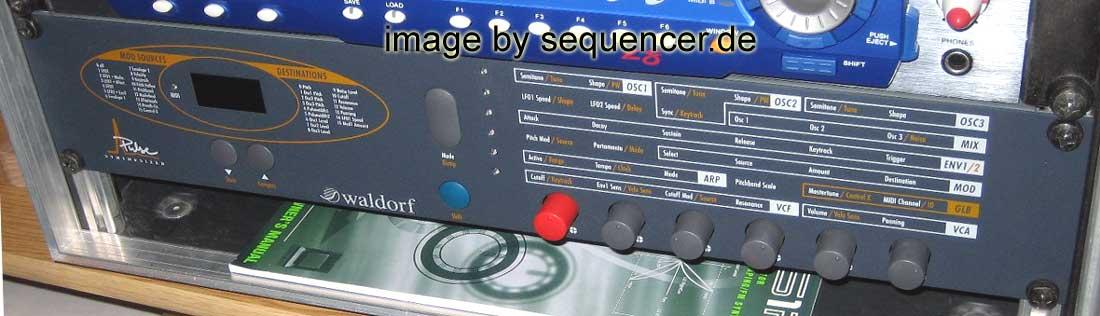 Waldorf Microwave II komplett Set Of Encoder microwave 2
