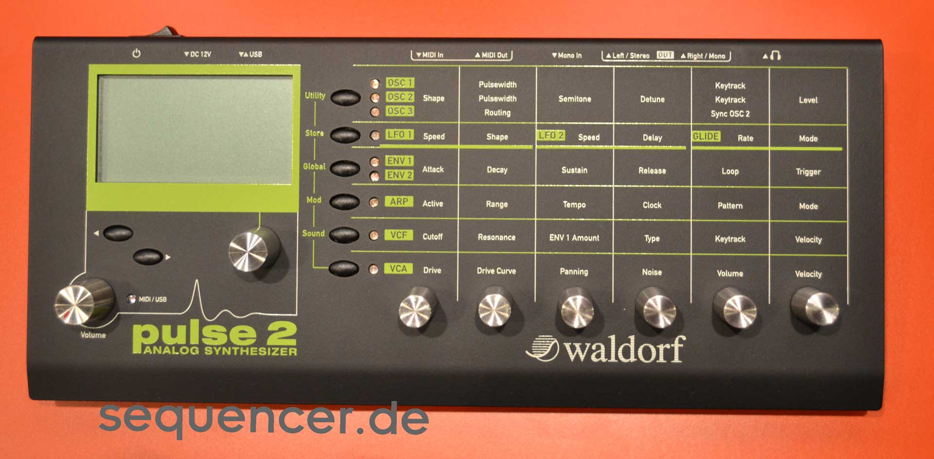 Waldorf Pulse 2 synthesizer
