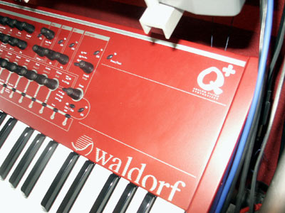 Waldorf Q+ synthesizer logo