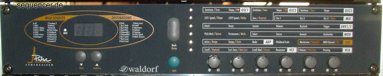 Waldorf Pulse synthesizer