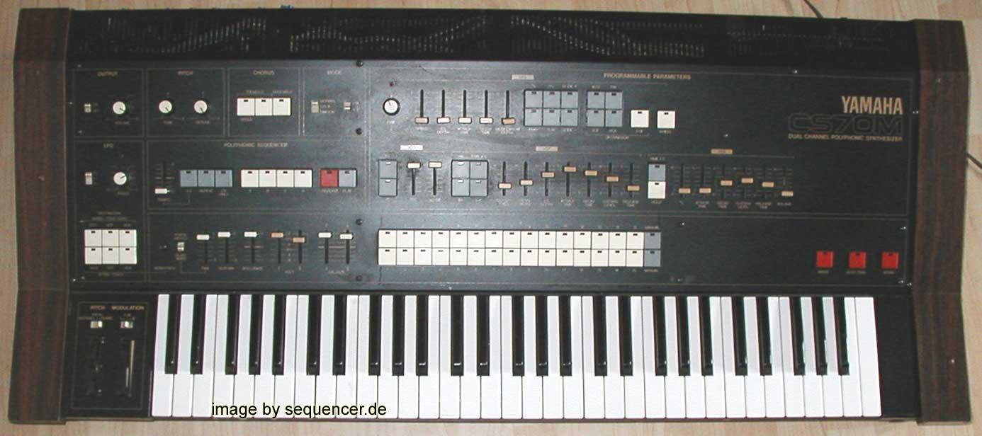 Yamaha CS70m synthesizer