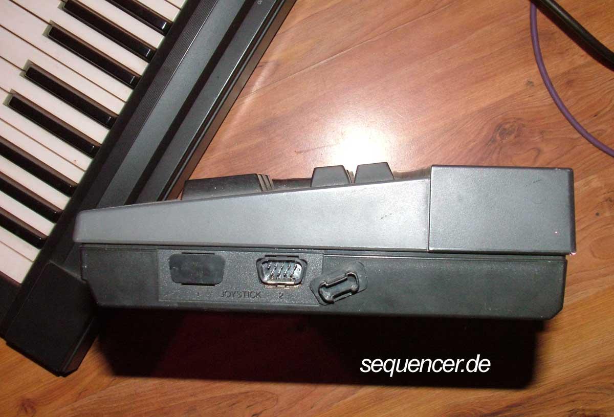 CX5M Joystick Ports CX5M Joystick Ports synthesizer