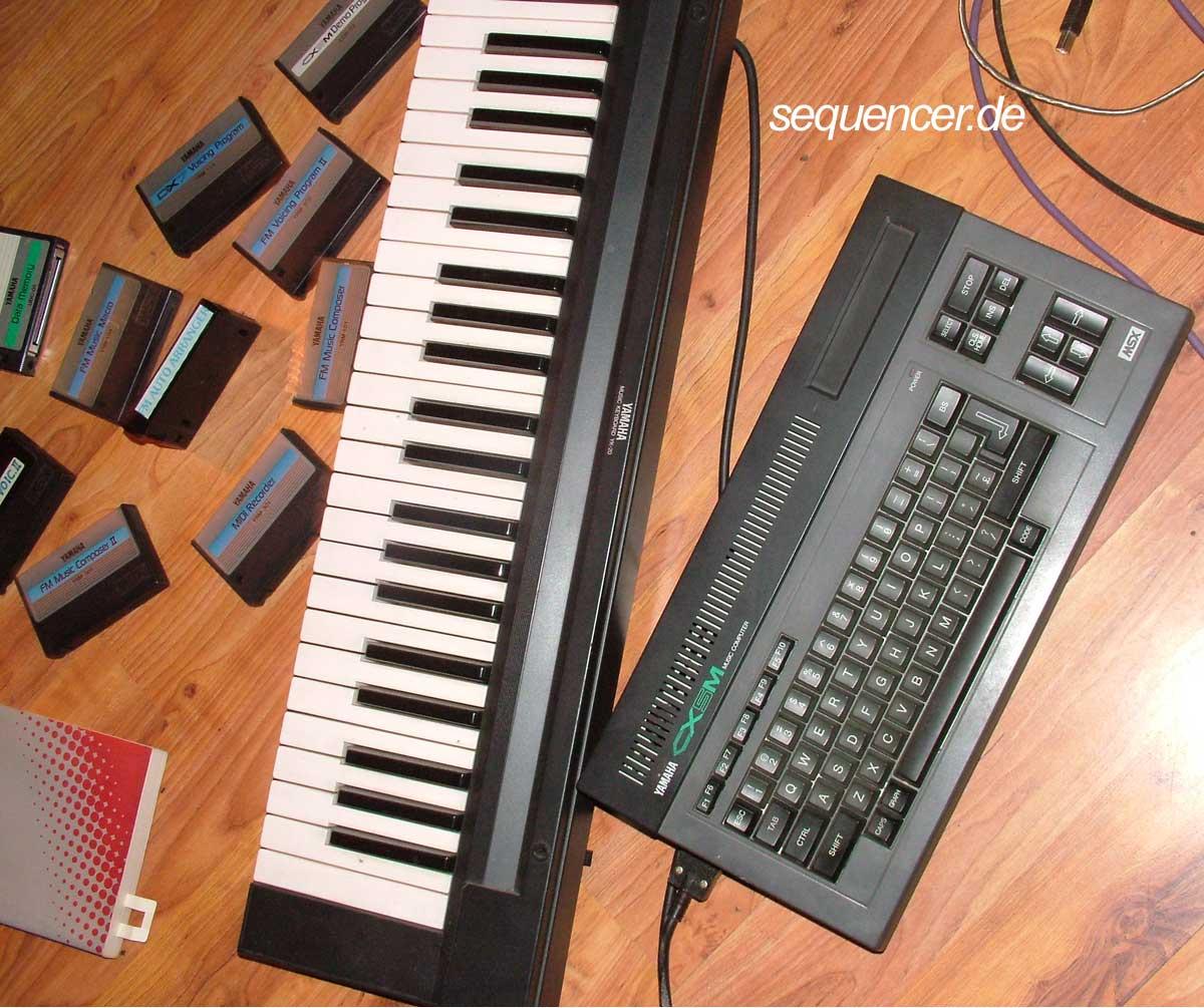 CX5M Keyboard CX5M Keyboard synthesizer