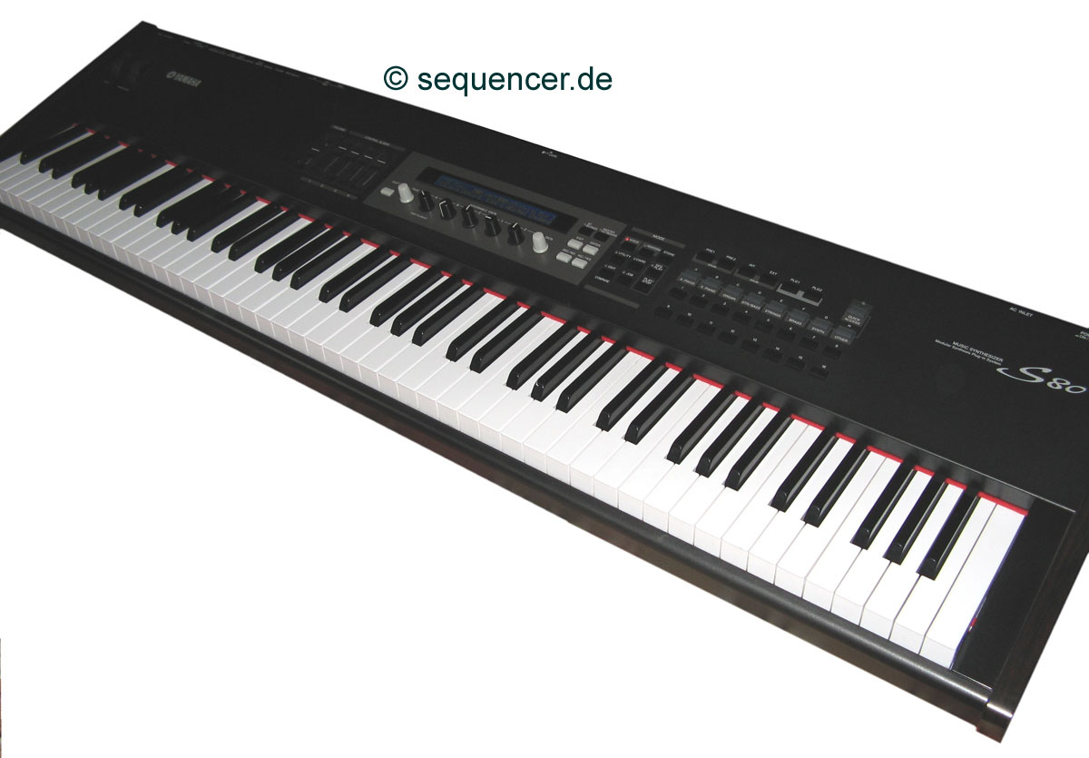 Yamaha S30, S80, S90 synthesizer