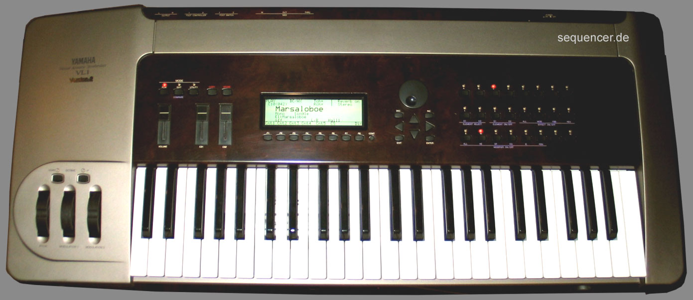 Yamaha VL1 synthesizer