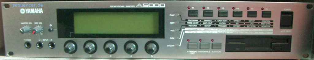 Yamaha A5000 synthesizer
