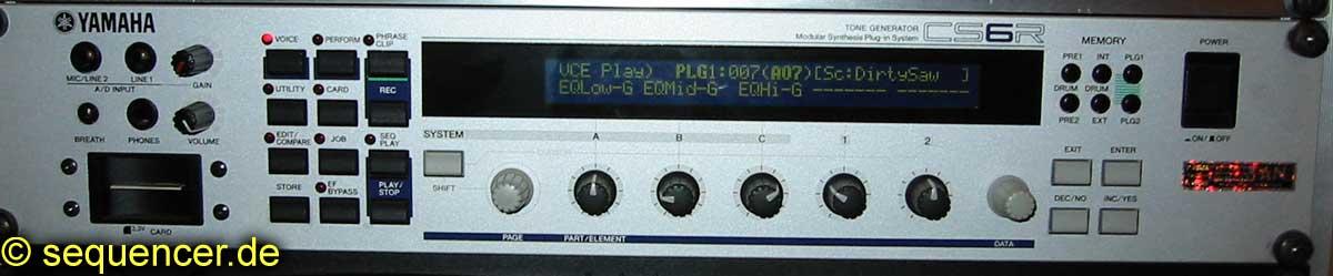 Yamaha CS6R synthesizer