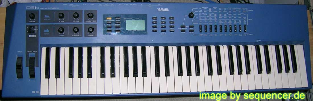 Yamaha CS1x Digital Synthesizer