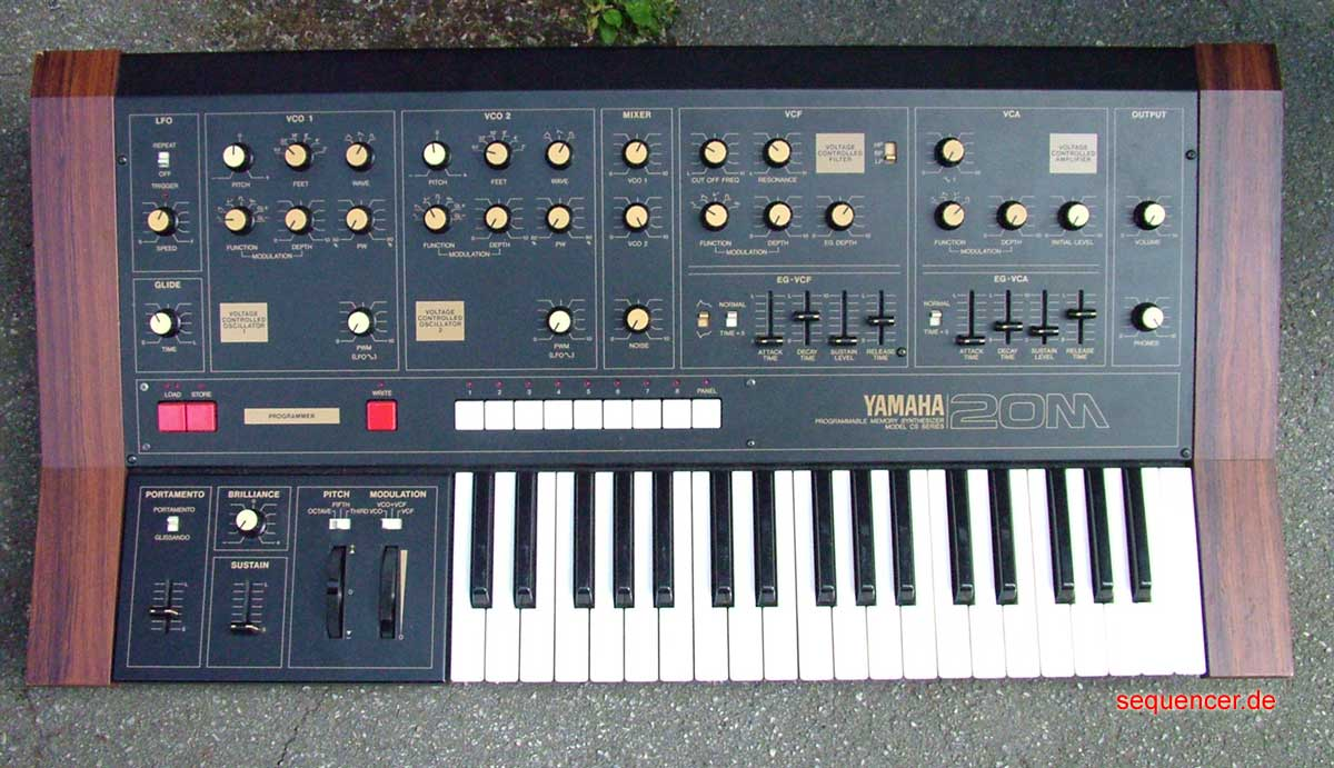 Yamaha CS20m Analog Synthesizer