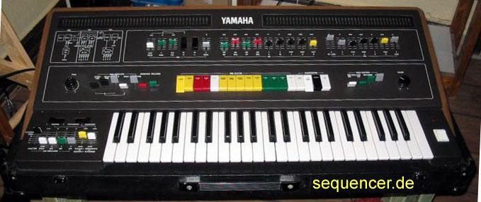 Yamaha CS50 synthesizer