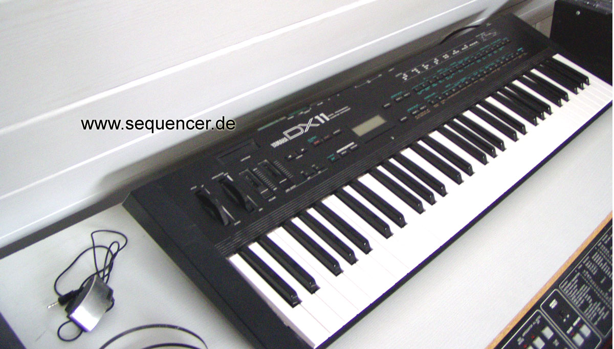 Yamaha DX11 synthesizer