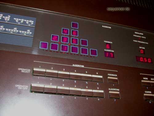 Yamaha DX-1 DX-1 FM Synth synthesizer