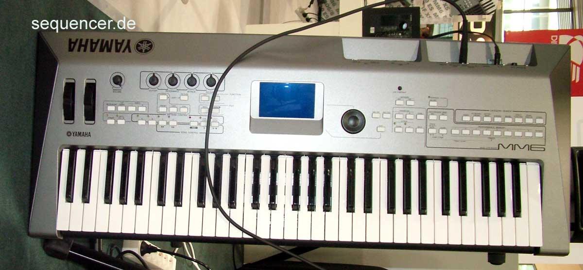 yamaha mm6 digital synthesizer workstation sequencer. Black Bedroom Furniture Sets. Home Design Ideas