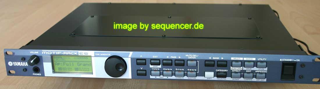 Yamaha Motif , Motif ES synthesizer