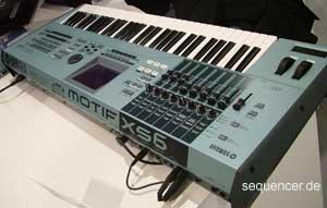 Yamaha MotifXS, XS6, XS7, XS8 synthesizer