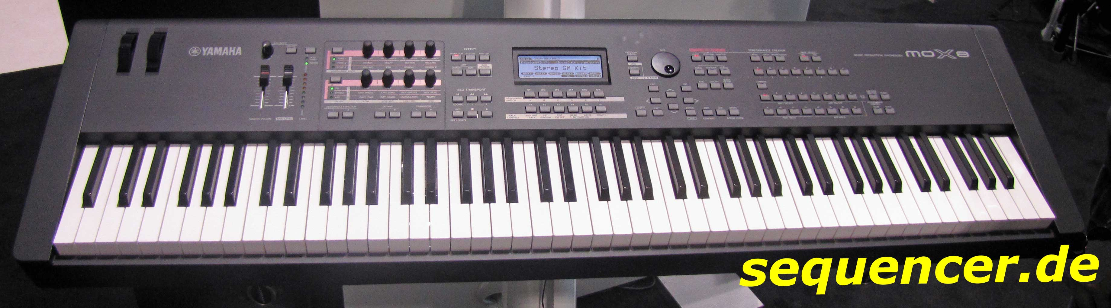 Yamaha MOX6, MOX7, MOX8 synthesizer