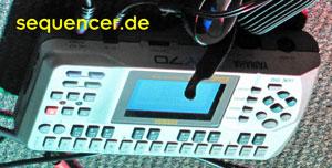 Yamaha QY70 Yamaha QY70 synthesizer