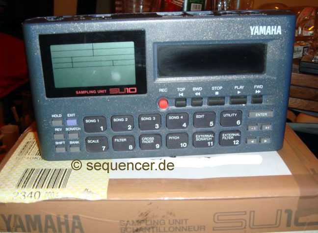 Yamaha SU200, SU10 synthesizer