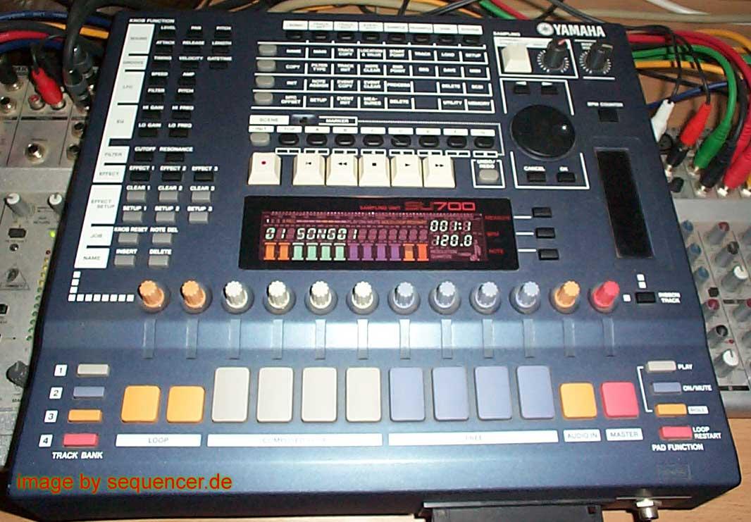 Yamaha SU700 synthesizer