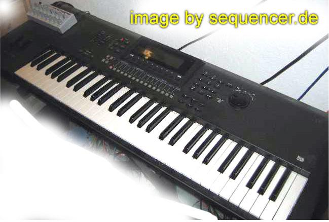 Yamaha QS300, W5, W7 synthesizer