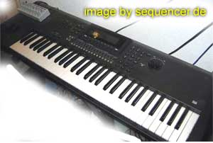 Yamaha QS300, W5, W7 synthesizer
