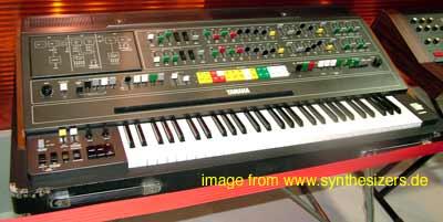 Yamaha CS80 synthesizer