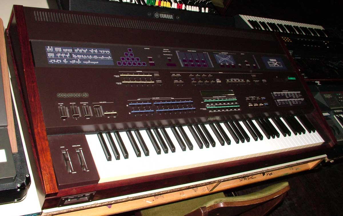Yamaha Dx Digital Fm Synth