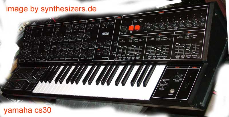Yamaha CS01 the CS series CS30...