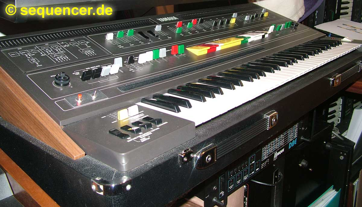 Yamaha CS60 synthesizer