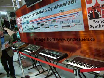 yamaha synthesizer history