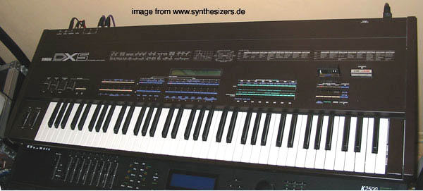 Yamaha DX5 synthesizer