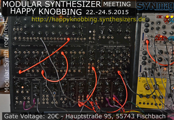 Happy Knobbing Modular Synthesizer Meeting 2015, Germany