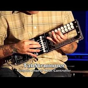 Video| TabStrummer Custom Chords/Tabs MIDI Controller